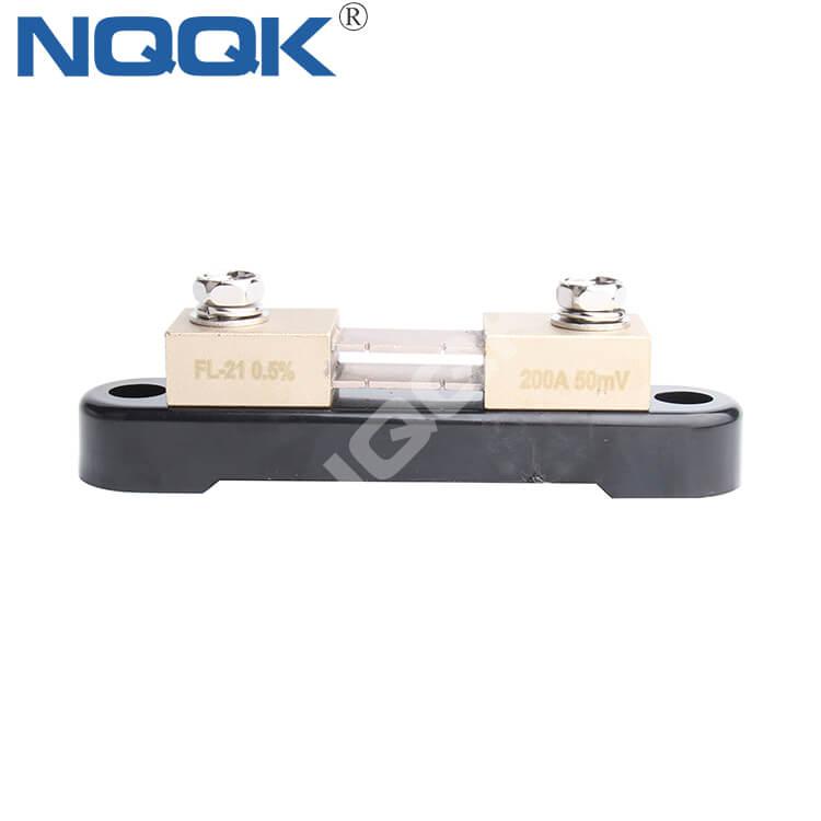 200A 75mV Voltmeter Ammeter DC current shunt resistor with base for DC application