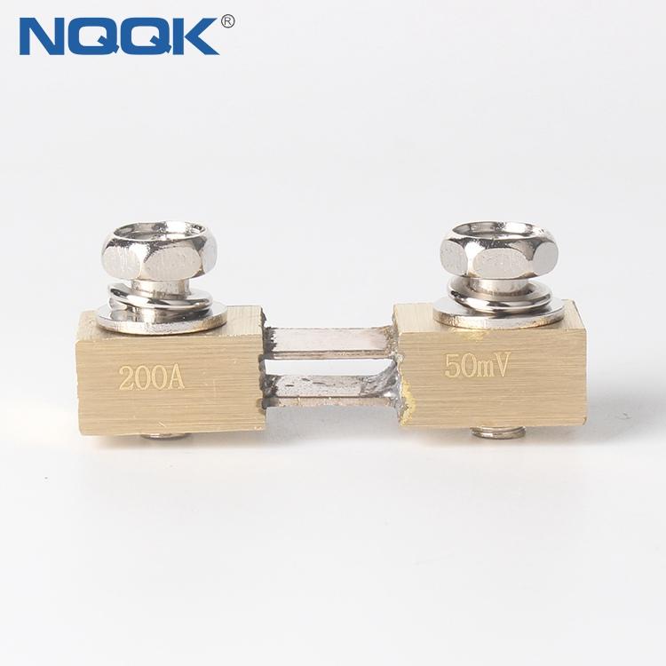 200A 1 50mV Corea Type Voltmeter Ammeter DC Current Manganin Shunt Resistor