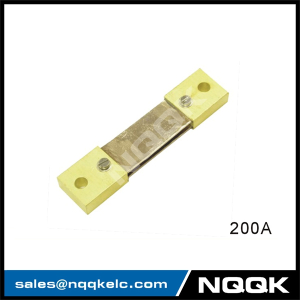200A Russia type Voltmeter Ammeter DC current Manganin shunt resistor