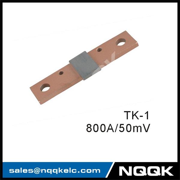 800A 50mV Turkey Type Voltmeter Ammeter DC Current Manganin Shunt Resistor