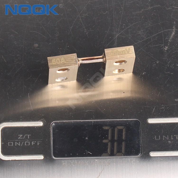 50A 50mV DC Current Manganin Shunt Resistor