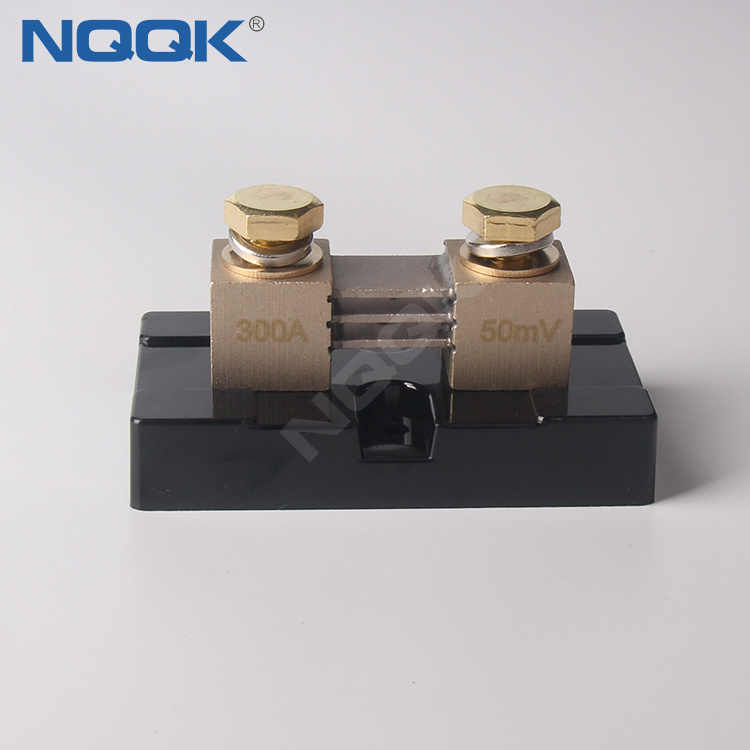 USA type 300A 50mV DC current Manganin shunt resistor with base