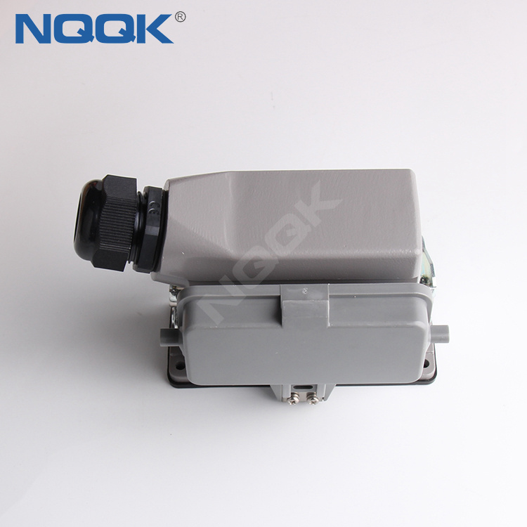 HE Series 16 Poles of Connector Heavy Duty Power Connector (With 2 Levers)