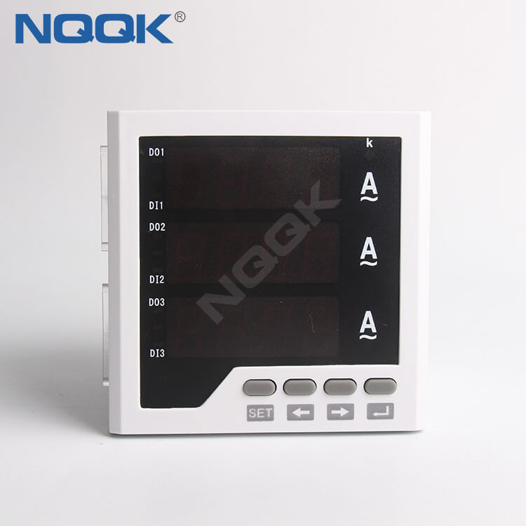 96 mm AC 5A 220V Class 0.5 NO Three 3 Phase Current Meter
