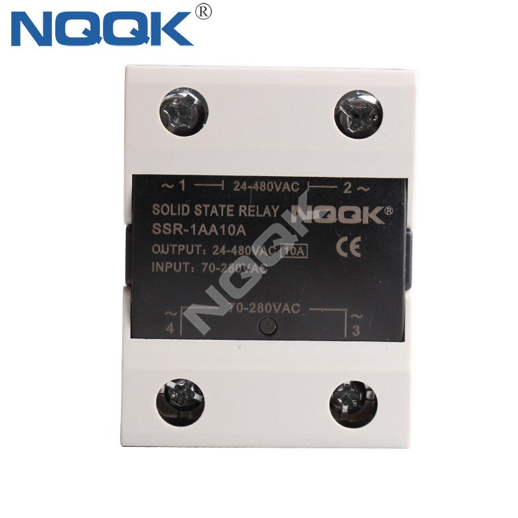 AC To AC 10A 120A Single Phase Solid State Relay
