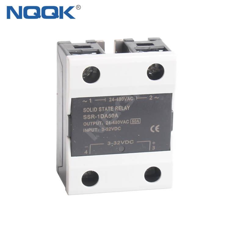 SSR-50DA 50A 480VAC 32VDC SSR Solid State Relay