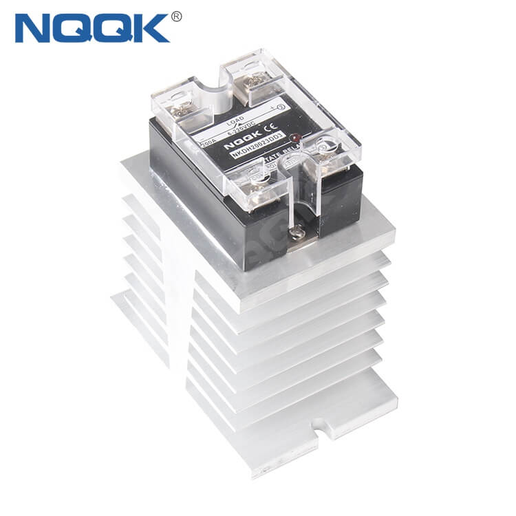 Solid State Relay Heatsink Heat Sink for 200A 240A SSR