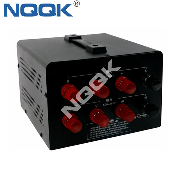 SSR-80A AC380V 80A 20KW 3 Three Phase SCR Solid State Voltage Thyristor Regulator