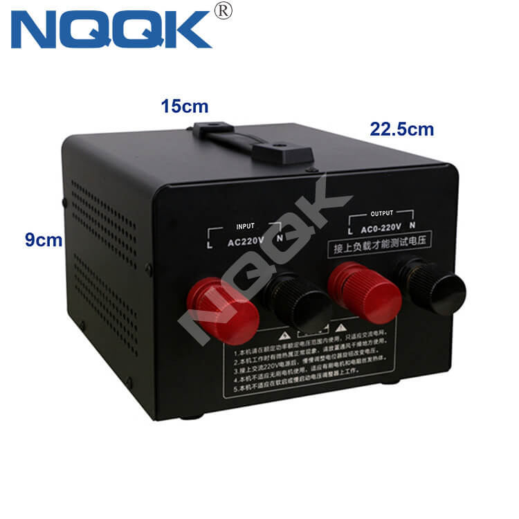 High Power Temperature Regulator 120A 15KW Solid State 220v Single Phase Electronic SCR Regulator