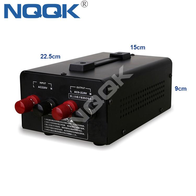 adjustable 0-220V thermostat 100A 10KW Solid state 220V single phase electronic SCR voltage regulator