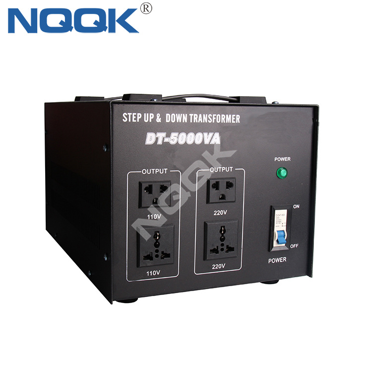 5000W 110Vac 220Vac Step Up Down Voltage Converter 5000VA Voltage Transformer