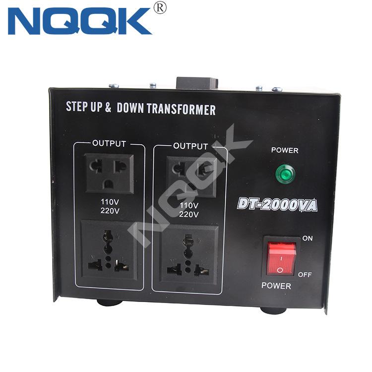 2000W 110v To 220v Step Up Down Voltage Converter 2000va Voltage Transformer