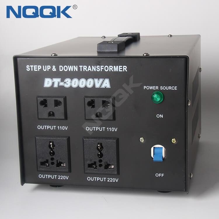 3000va Power Voltage Converter 110V To 220V , Voltage Transformer , Step Up And Down Transformer
