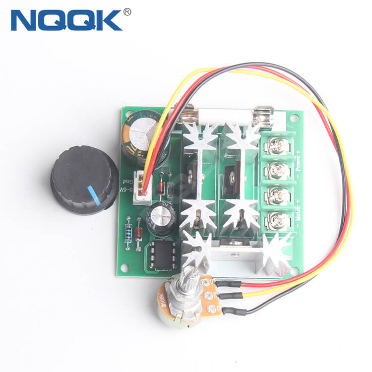 6V-90V 15A DC Motor Pwm General Purpose PWM Stepless Speed Switch