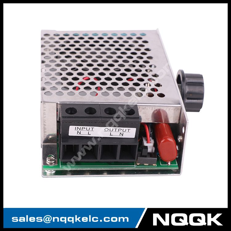 10000W AC110V 220V 75A SCR Voltage Regulator Speed Controller Dimmer Thermostat with fan