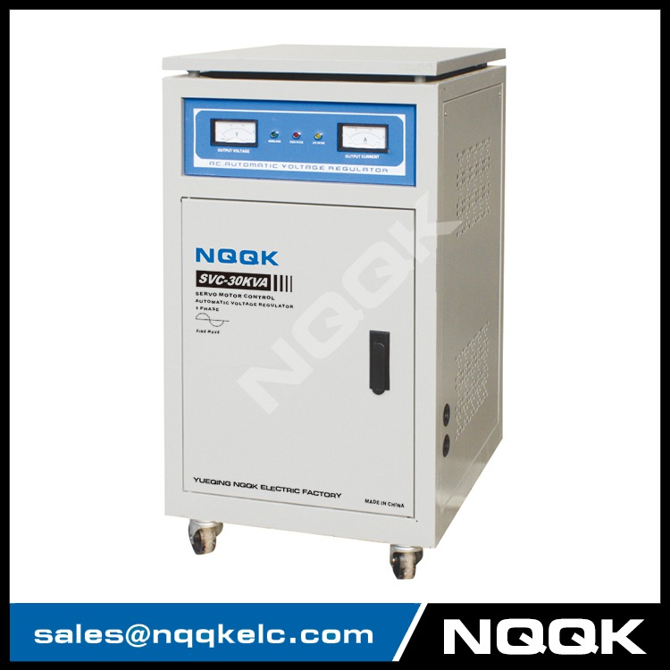 SVC 15KVA / 20KVA Servo Type 1Phase Series Voltage Regulator Voltage Stabilizer