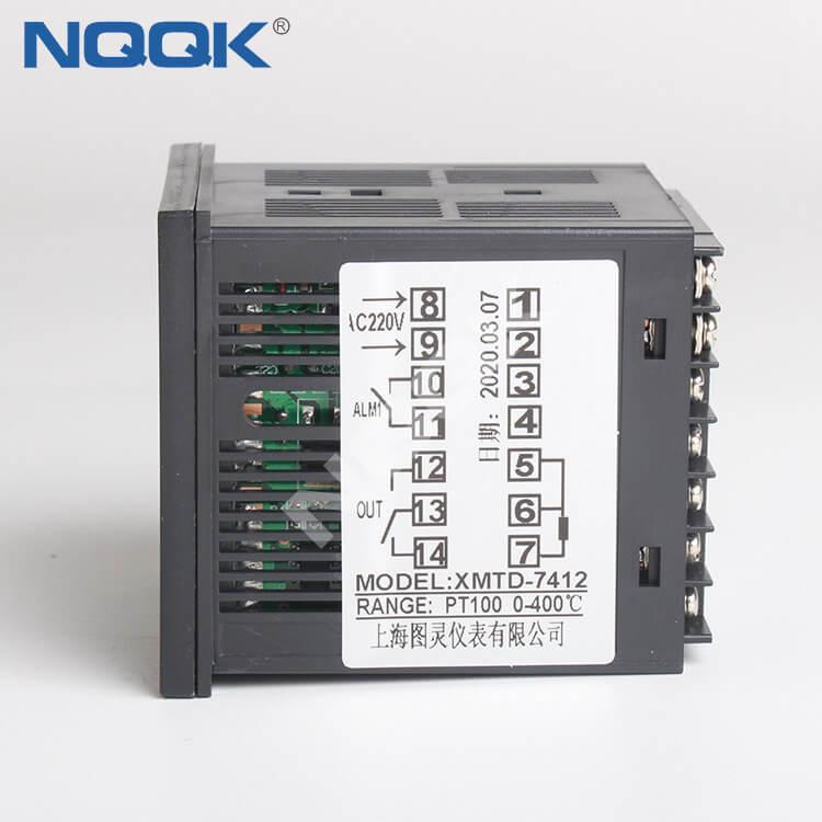 XMTD-7412 XMTD-6412 Thermocouple PT100 72mm Industrial Digital Intelligent Temperature Controller