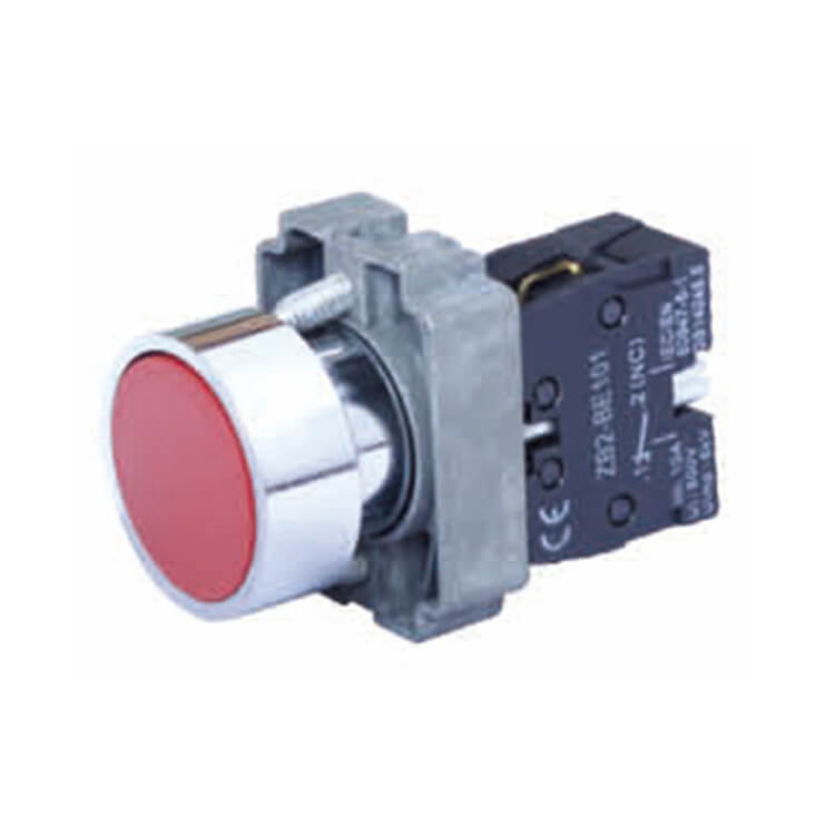 Even Button Spring Push Button Return Switch with Symbol Logo