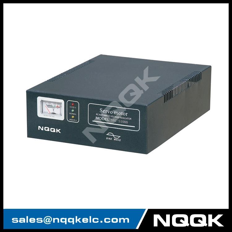 SVC-S 1KVA / 1.5KVA Super-thin Type 1Phase Series Voltage Regulator Voltage Stabilizer