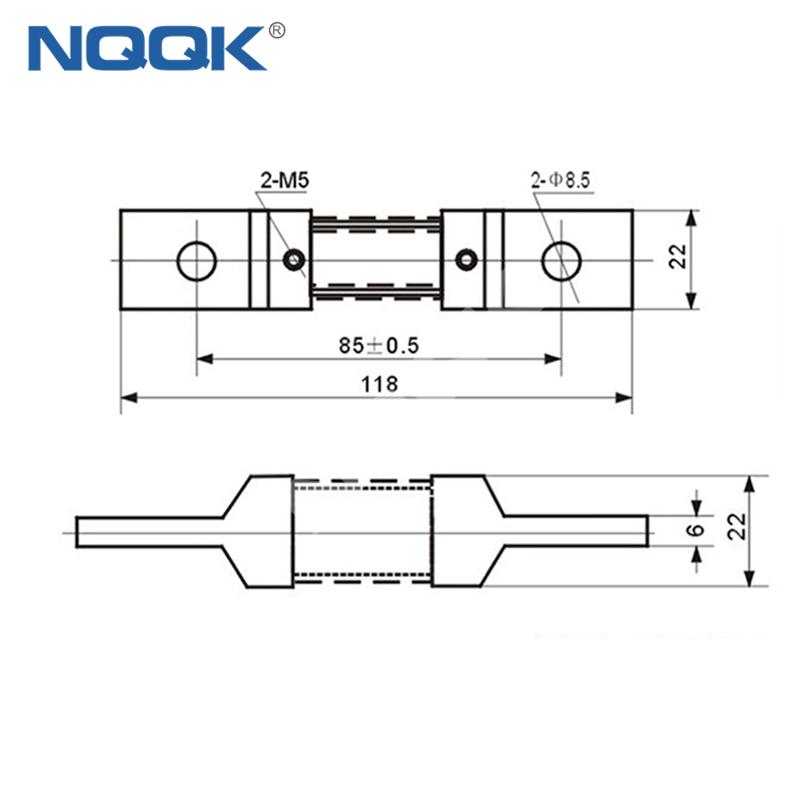 400A Voltmeter Ammeter Electric welding machine Dc current shunt resistor
