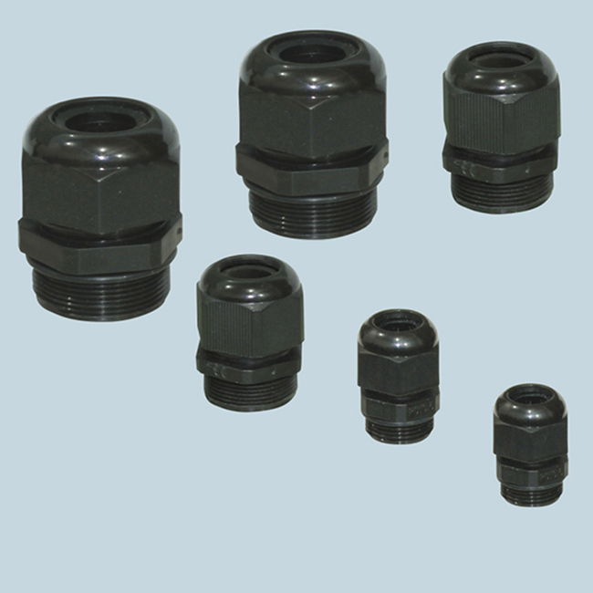 PG AG 7 ~ 63 gray black Nylon Cable Gland