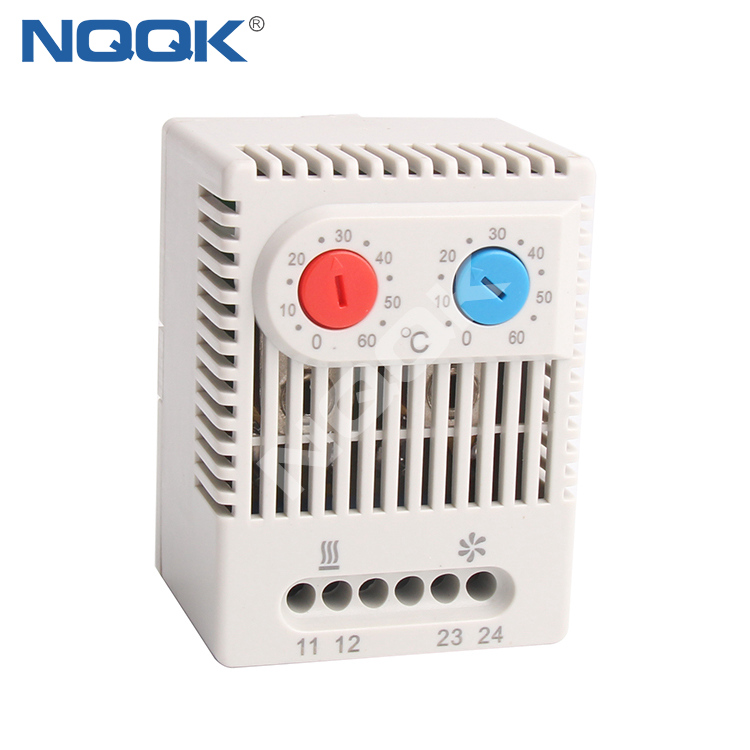ZR 011 Clip fixing NO and NC Dual Thermostat Temperature thermostat controller for regulating
