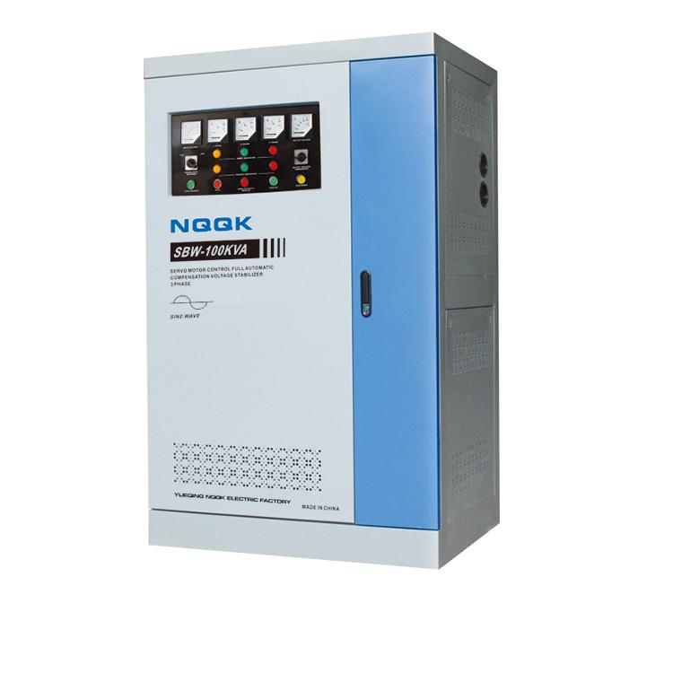 DBW 80KVA / 100KVA / 120KVA Full-Automatic Compensated 1Phase Series voltage stabilizer voltage regulator