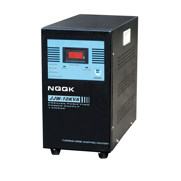 JJW 8KVA / 10KVA Precision Purified 1Phase Series Voltage Stabilizer Regulator