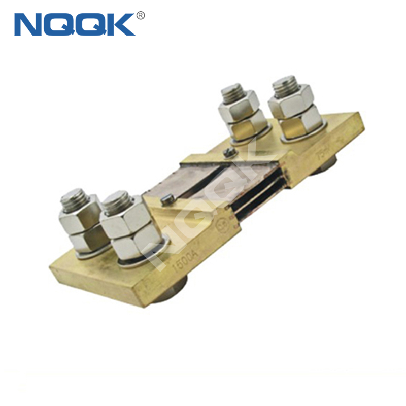 1500A Russia type Voltmeter Ammeter DC current Manganin shunt resistor
