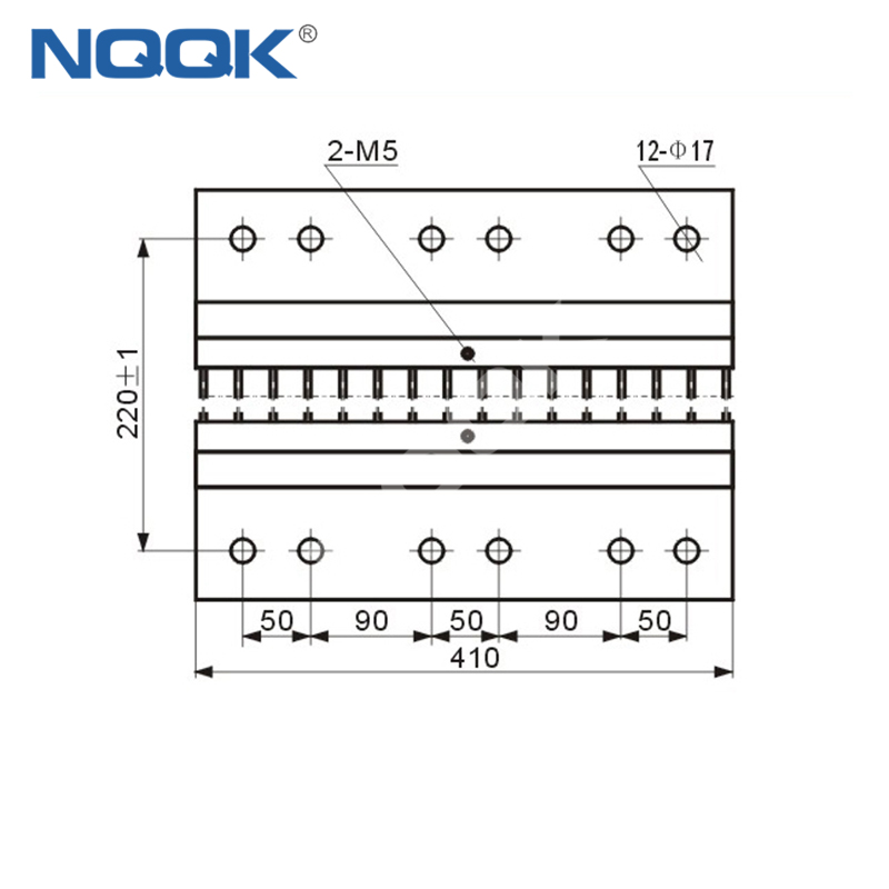 10000A Voltmeter Ammeter Electric welding machine Dc current shunt resistor