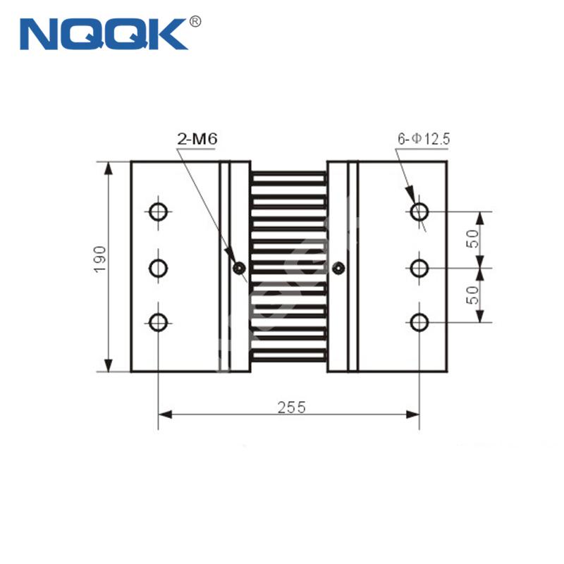 3000A Voltmeter Ammeter Electric welding machine Dc current shunt resistor
