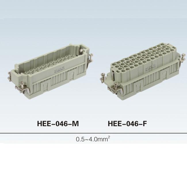HDD 24 ~216 pin Insert Series rectangular plug socket heavy duty connector