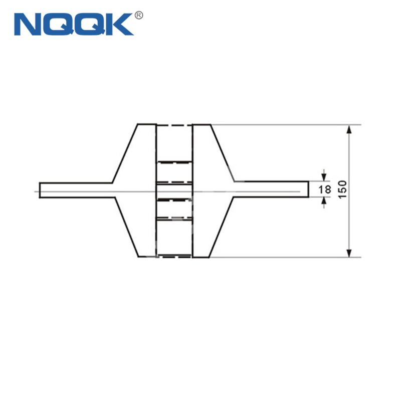 15000A Voltmeter Ammeter Electric welding machine Dc current shunt resistor