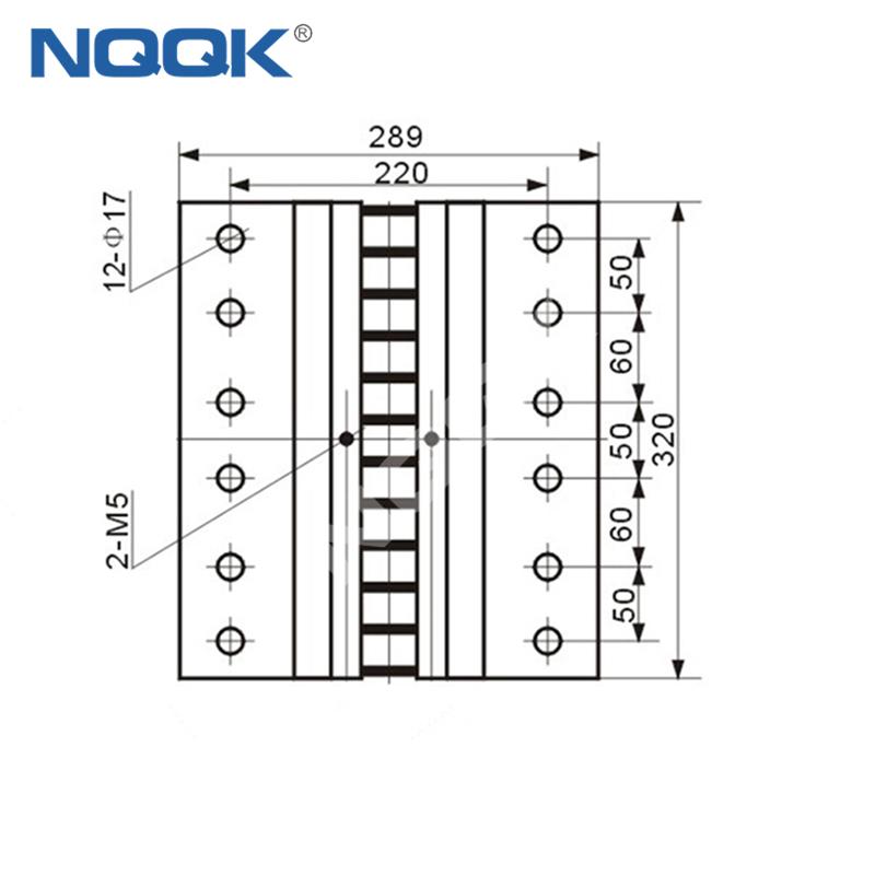 7500A Voltmeter Ammeter Electric Welding Machine Dc Current Shunt Resistor