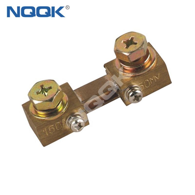 150A 50mV Corea type Voltmeter Ammeter DC current Manganin shunt resistor