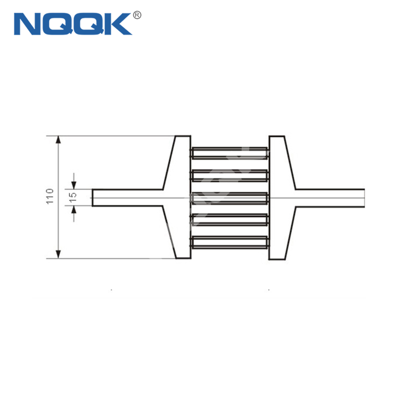 2000A Voltmeter Ammeter Electric welding machine Dc current shunt resistor