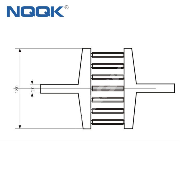 4000A Voltmeter Ammeter Electric welding machine Dc current shunt resistor