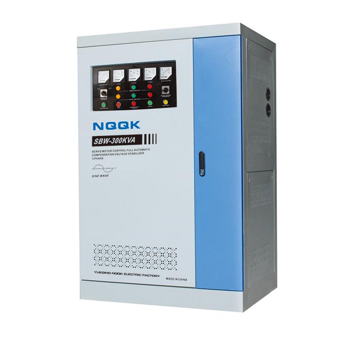 SBW 250KVA / 300KVA / 320KVA / 350KVA Full-Automatic Compensated 3Phase Series voltage stabilizer regulator