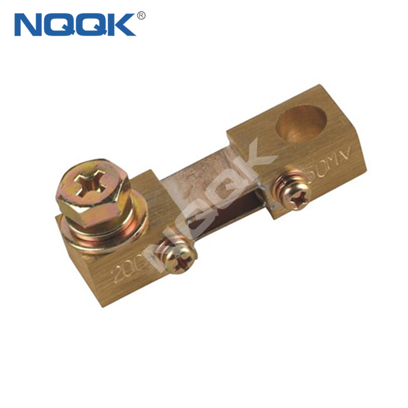 200A 2 50mV Corea type Voltmeter Ammeter DC current Manganin shunt resistor