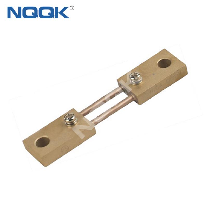 80A India type Voltmeter Ammeter DC current Manganin shunt resistor