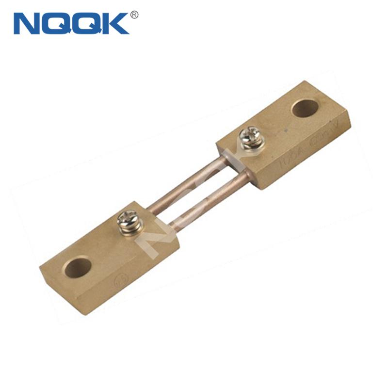 100A India type Voltmeter Ammeter DC current Manganin shunt resistor