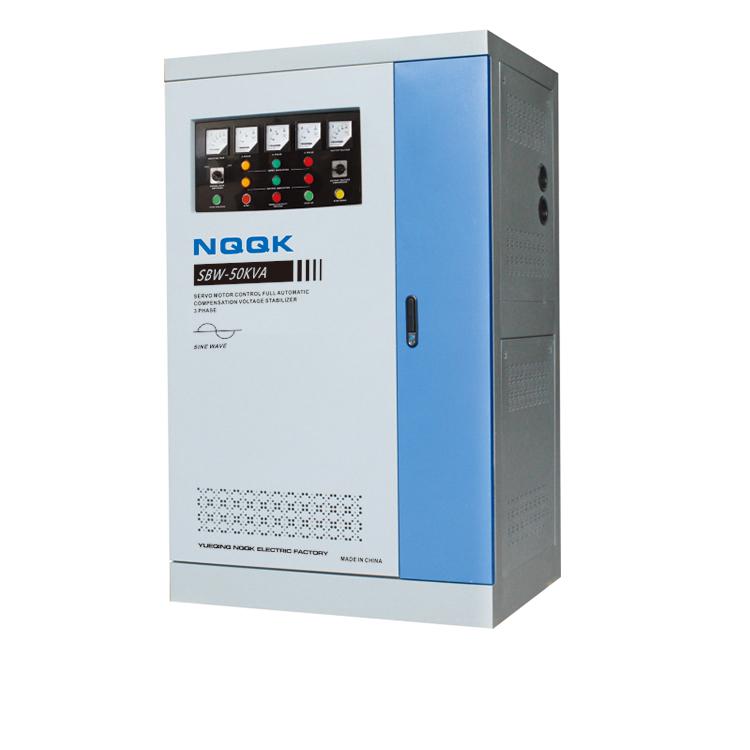 DBW 40KVA / 50KVA / 60KVA Full-Automatic Compensated 1Phase Series voltage stabilizer voltage regulator