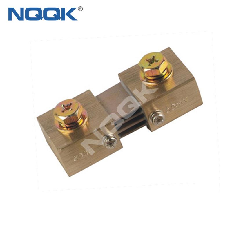 600A 50mV Corea type Voltmeter Ammeter DC current Manganin shunt resistor