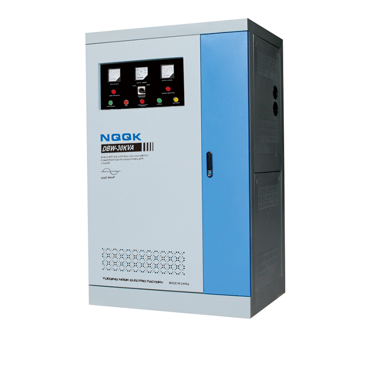DBW 10KVA / 15KVA / 20KVA / 25KA / 30KVA Full-Automatic Compensated 1Phase Series voltage stabilizer voltage regulator