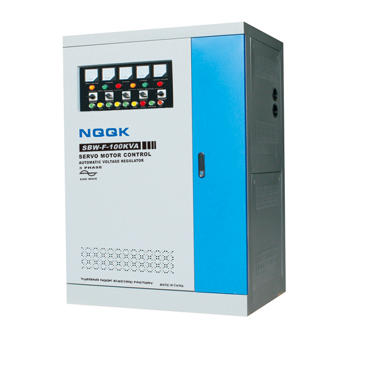 SBW-F 40KVA / 50KVA / 60KVA / 100KVA Split-Phase Regulating Full-Autpmatic Compensated 3Phase Series voltage regulator stabilize