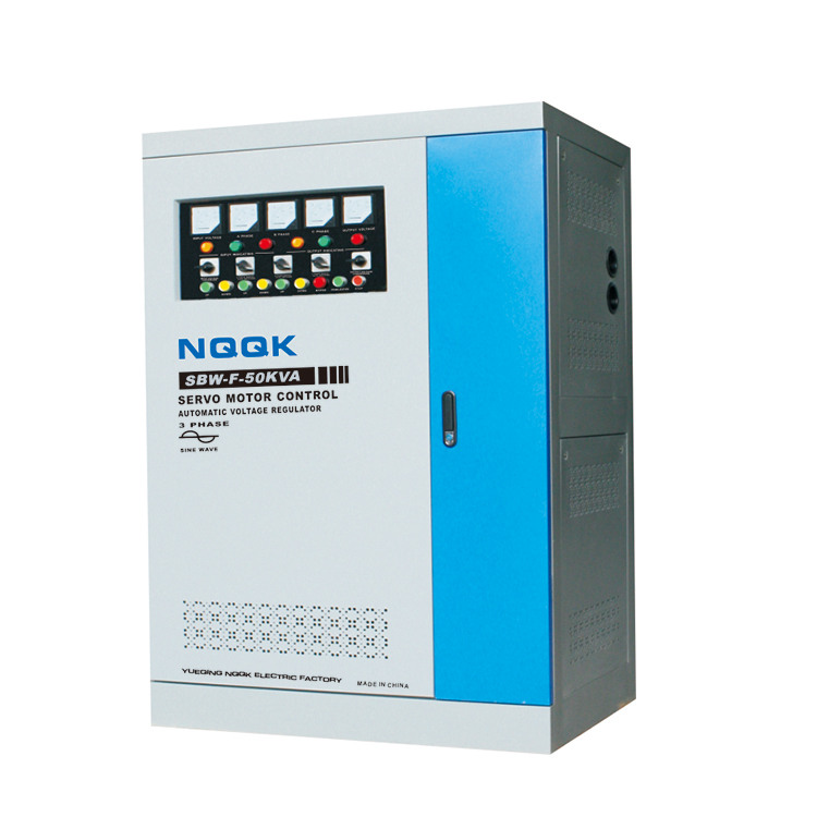 SBW-F 10KVA / 15KVA / 20KVA / 30KVA / 50KVA Split-Phase Regulating Full-Autpmatic Compensated 3Phase Series voltage regulator stabilizer