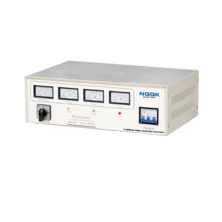 TNS 1.5KVA Servo Type 3Phase Series Voltage Regulator Voltage Stabilizer