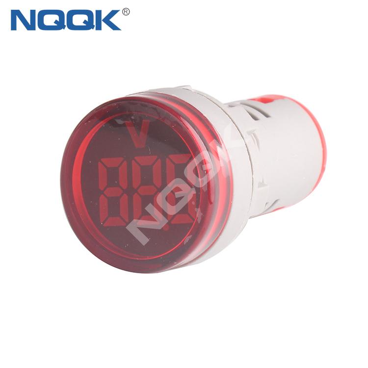 CE AD16 22mm Mini LED Indicator Digital Voltage Meter Voltmeter