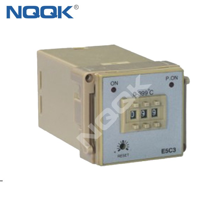 E5C3 48mm K J PT100 NO OFF Industrial Temperature Controller for plastic rubber packing machinery