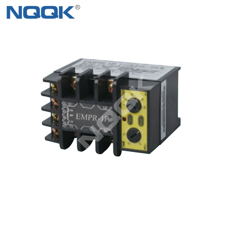 EMPR-1P 90V AC~ 260V AC over current protection LED Single Phase Relay